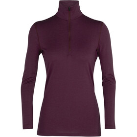 Icebreaker 200 Oasis LS Half-Zip Top Women brazilwood